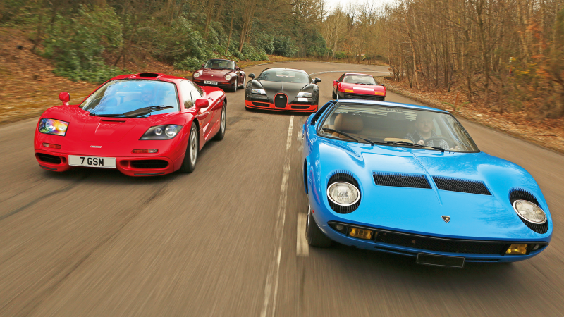 World-beaters: the fastest cars of the 20th century