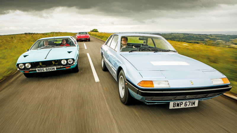 Gt Class For The Family Classic Coupes With Four Seats Classic