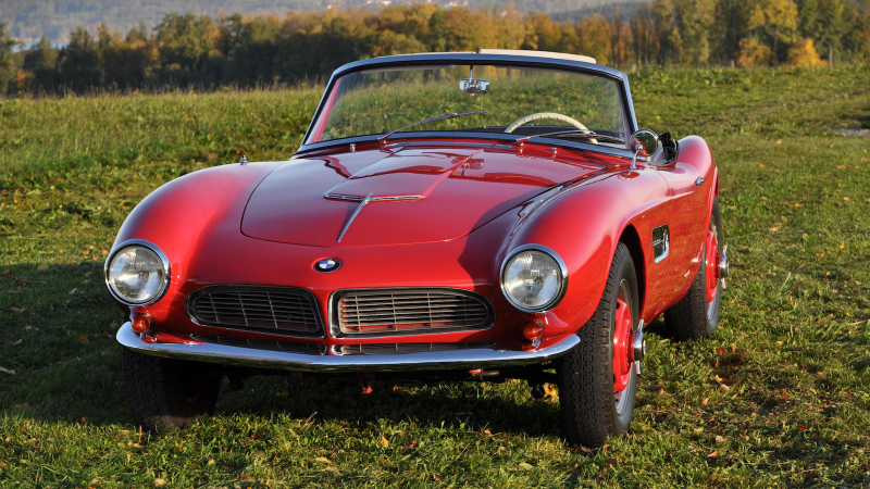 BMW 507 owned by the car's designer – yours for £2.2m