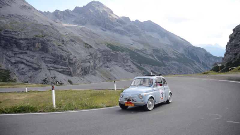 The Liège-Brescia-Liège microcar rally proves size isn't everything