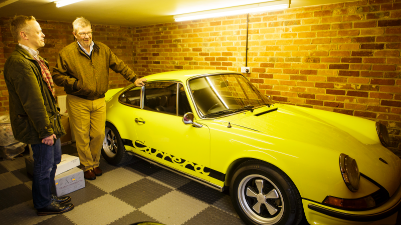 Inside Ross Brawn's incredible car collection