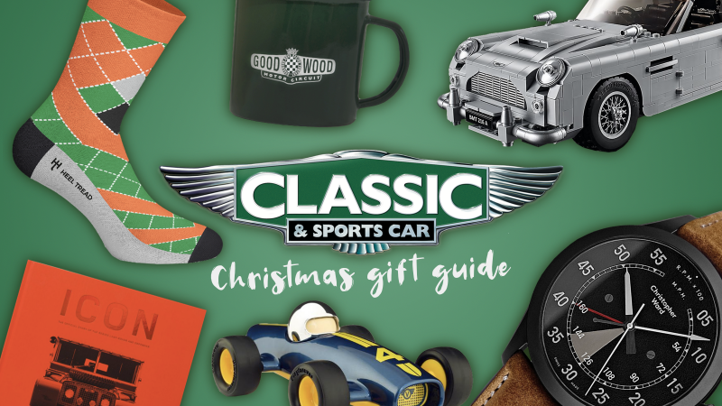 Christmas Sports Car.The Best Christmas Gifts For Classic Car Fans Classic