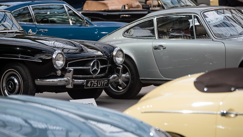 The year's biggest classic car auction sales
