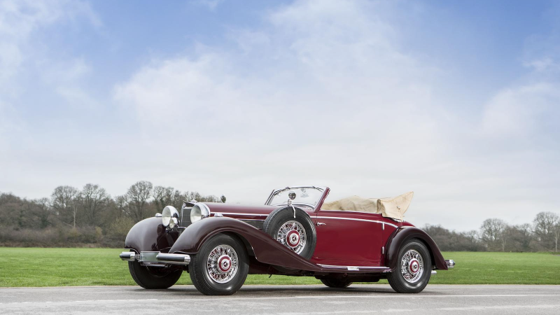 32 million-pound motors up for grabs at Retromobile