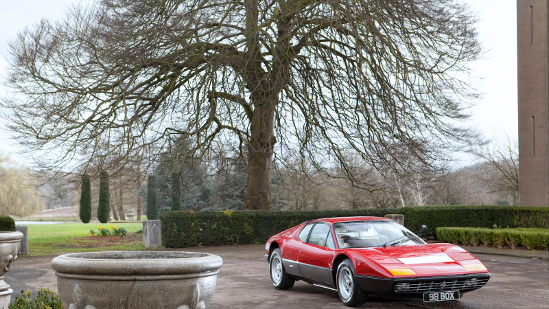 Elton John's classic Ferrari is up for auction at Goodwood