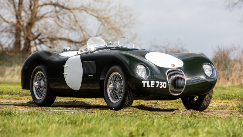 Incredible classics go under the hammer at Sale of British Marques