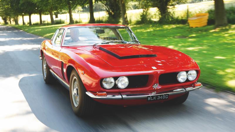 16 European Classics With Detroit V8 Hearts Classic Sports Car