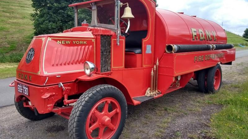 1922 Mack Open-cab Fire Truck
