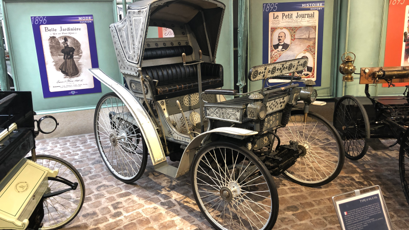 Touring the treasures of Peugeot's museum