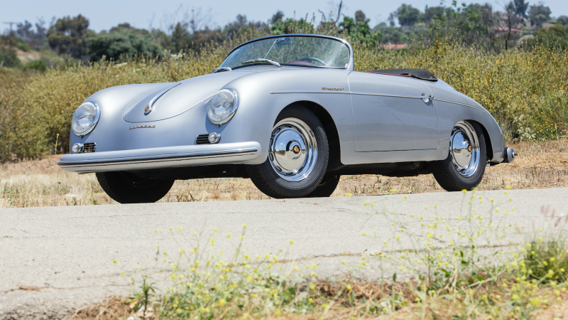 Collection of classic Porsche and Ferrari cars up for auction without reserve