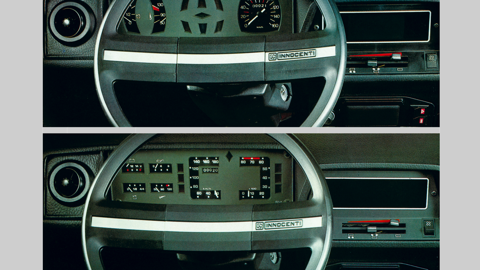 14 classic dashboards you'd never see in a modern car