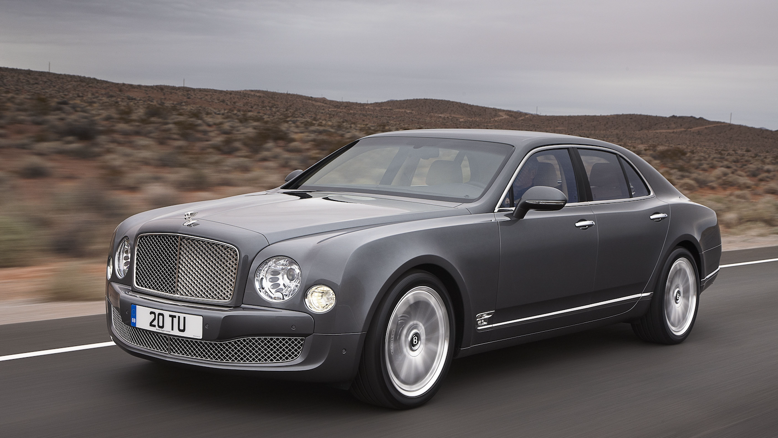 Bentley's V8 bows out
